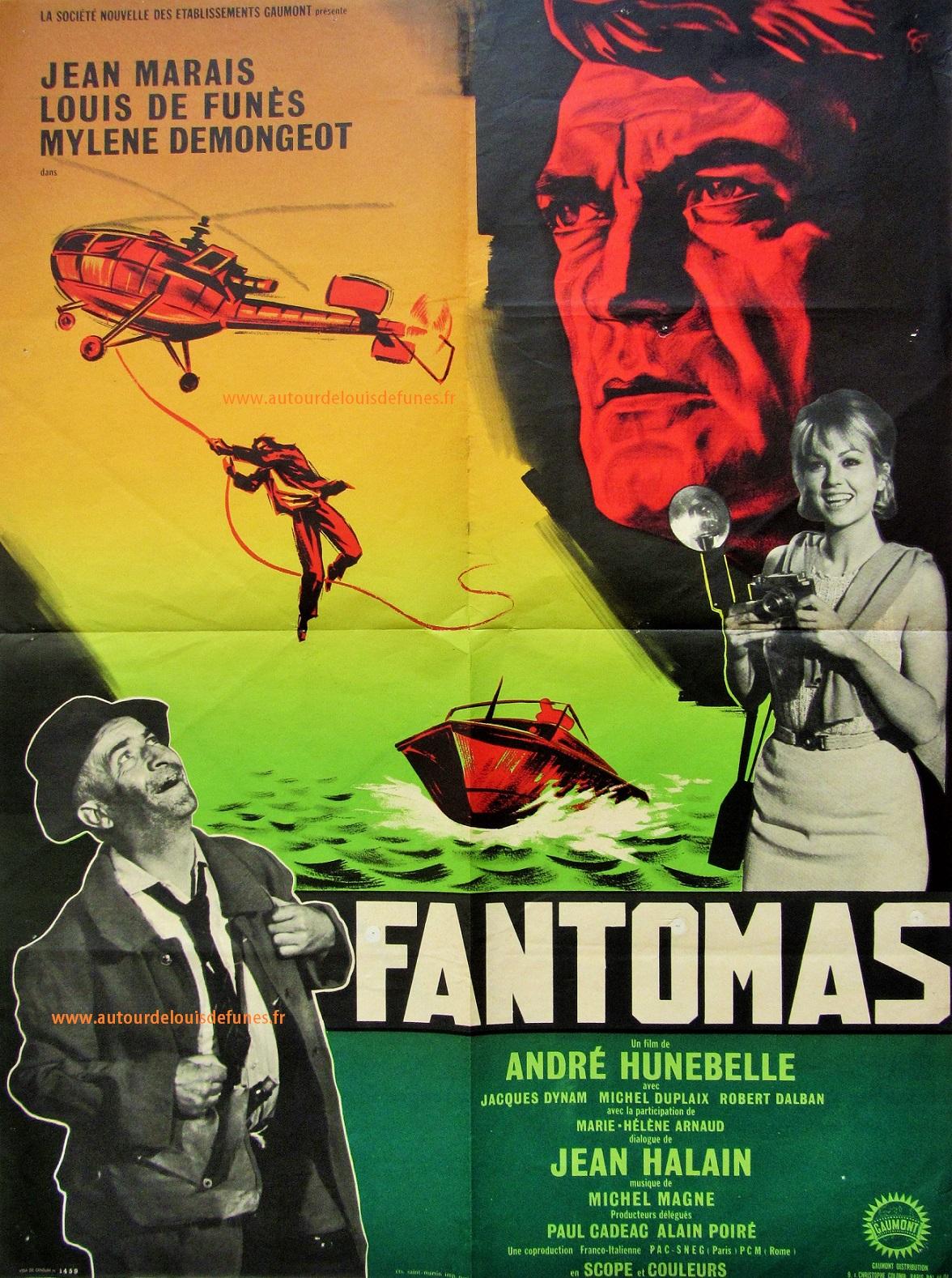 Abécédaire des Films - Page 12 Fantomas_france_1964_60x80
